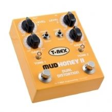 T Rex Mudhoney II Dual Distortion Guitar FX Pedal / Stomp Box